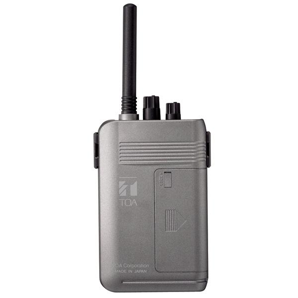 TOA WT-2100 FX Portable Receiver 5 channel TOA WT-2100 FX ชุดทัวร์ไกด์ ตัวรับสัญญาณแบบพกพา 5 ชาแนล WT-2100 Portable Receiver เครื่องรับสัญญาณพกพา
