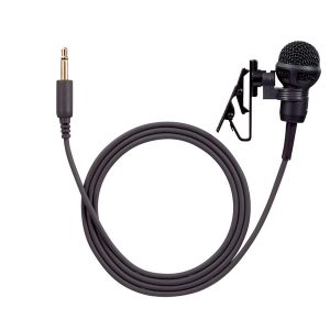 TOA YP-M101 Tie-clip Microphone ไมโครโฟนหนีบปกเสื้อ สำหรับ TOA WM-2100 เครื่องส่งชุดทัวร์ไกด์ สำหรับผู้พูดบรรยายTOA YP-M101 ไมโครโฟนสำหรับ WM-2100