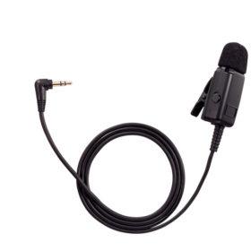 TOA YP-M201Close-TalkingMicrophone ไมโครโฟนหนีบปกเสื้อ พูดระยะใกล้ สำหรับ TOA WM-2100 เครื่องส่งชุดทัวร์ไกด์ สำหรับผู้พูดบรรยายTOA YP-M201 ไมค์ WM-2100