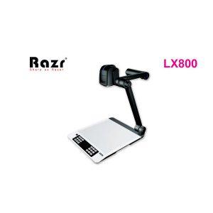 RAZR LX-810 Visualizer RAZR LX-810 วิชวลไลเซอร์ ความละเอียด 3,200,000 Pixel Optical Zoom 12x Digital Zoom 10x RAZR LX810เครื่องฉายภาพสามมิติ