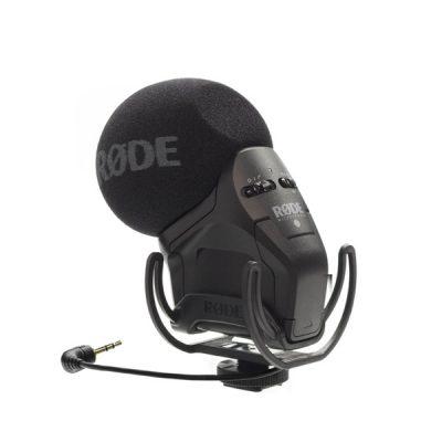 RODE Stereo VideoMic Pro Directional On-camera Microphone (Camera Recorder Microphone ไมโครโฟนชนิดติดกล้องบันทึกเสียง) ไมโครโฟน ขนาดเล็ก