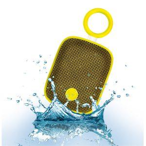 DREAMWAVE BUBBLE POD (สีเหลือง) DREAMWAVE BUBBLE POD ลำโพงพกพา ไร้สาย กันน้ำ มีไมค์ในตัว เชื่อมต่อการทำงานด้วยระบบบลูทูธ ใช้งานได้ 12 ชม. DREAMWAVE BUBBLE POD ลำโพงบลูทูธ จากแบรนด์DREAWAVE