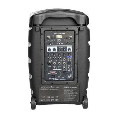 SOUNDVISION ESiGO ESi1020 เครื่องขยายเสียงเคลื่อนที่แบบลากจูง 240 วัตต์ พร้อมบลูทูธเชื่อมสัญญาณในตัว ของแท้มีคุณภาพ ส่งฟรี!!
