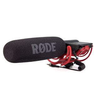RODE VideoMic Directional On-camera Microphone (Camera Recorder Microphone ไมโครโฟนชนิดติดกล้องบันทึกเสียง) ไมโครโฟน Shotgun ขนาดเล็ก RODE VideoMic Rycote