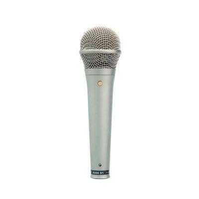 RODE S1 Live Condenser Vocal Microphone ไมค์สำหรับร้องเพลง และพูด ทิศทางการรับเสียง SUPERCARDIOID แบบCondenserใช้ไฟ 48+ Phantom ไมค์ร้องเพลง