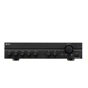TOA A-2120 HMixer Power Amplifier (H version) มิกเซอร์เซอร์แอมป์แบบ 70V/100V 120 วัตต์ MONO 3 MIC,2 AUXTOA A-2120 Hมิกเซอร์พร้อมแอมป์ขยายเสียง