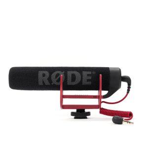 RODE VideoMic GO ลดเสียงรบกวนได้ดี โดยมีไมโครโฟนรับเสียงขนาดเล็กบรรจุไว้ภายใน จากกล้องวีดีโอ,สมาร์ทโฟน มีคุณภาพเสียงระดับงานโปรเฟสชั่นนอล Microphone