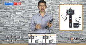 รีวิว COMICA CVM-WS50A ชุดไมโครโฟนไร้สาย 6 ชาแนล สำหรับสมาร์ทโฟน Android/IOS ย่าน UHF(794MHz~806MHz) ใช้งานได้ไกลถึง 40 เมตร ถ่าย VDO แบบมืออาชีพอย่างง่าย