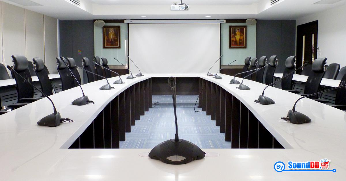 ผลงานการติดตั้งระบบเสียงห้องประชุม สมาคมประกันชีวิตไทย รับบริการออกแบบ และติดตั้ง ระบบเสียง และระบบภาพ ด้วยทีมงานมืออาชีพ