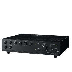 TOA A-1803 ER Mixer Power Amplifier 30 วัตต์ TOA A-1803 ER มิกเซอร์แอมป์ 30 วัตต์ MONO 3 MIC , 3 AUXTOA A-1803 ER AUX Mixer Power Amplifier