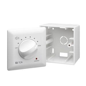 TOA AT-4012 Wall attenuator Volume control โวลุ่ม Input Capacity 12 Watt Volume Control โวลุ่ม ปรับระดับเสียง เพิ่ม-ลด ระดับเสียง ติดผนัง ปรับเสียง