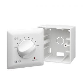 TOA AT-4030 Wall attenuator Volume control โวลุ่ม Input Capacity 30 Watt Volume Control โวลุ่ม ปรับระดับเสียง เพิ่ม-ลด ระดับเสียง ติดผนัง