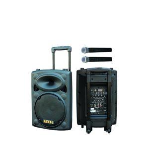 "BIK USK-10VN Portable Stand-alone PA System 10""25cm เครื่องขยายเสียงเคลื่อนที่แบบลากจูง 10 นิ้ว 250 วัตต์ BIK USK-10VN เครื่องเสียงเคลื่อนที่แบบลากจูง"