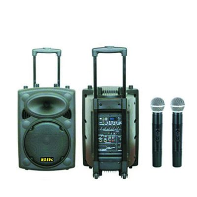 "BIK USK-12V PA Speaker System 350W RMS 12"" เครื่องขยายเสียงเคลื่อนที่แบบลากจูง 12 นิ้ว 350 วัตต์ BIK USK-12V เครื่องเสียงเคลื่อนที่แบบลากจูง"
