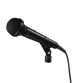 TOA DM-1100 Unidirectional Microphone ไมโครโฟน ใช้สำหรับร้องเพลง หรือใช้ในงานพูดพรีเซนต์ ให้พลังเสียงที่เหมาะสม ใช้งานแบบถือก็เหมาะมือ ใช้งานกับขาตั้งไมค์