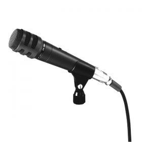 TOA DM-1200 Dynamic Unidirectional Microphone ไมโครโฟนแบบไดนามิก ใช้สำหรับร้องเพลง หรือใช้ในงานพูดพรีเซนต์ ให้พลังเสียงที่เหมาะสม ใช้งานแบบถือก็เหมาะมือ