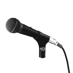 TOA DM-1300 Unidirectional Microphone ไมโครโฟนแบบไดนามิก ใช้สำหรับร้องเพลง หรือใช้ในงานพูดพรีเซนต์ ให้พลังเสียงที่เหมาะสม ใช้งานแบบถือก็เหมาะมือ