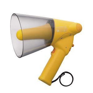 TOA ER-1206W โทรโข่ง Splash-proof Hand Grip Type Megaphones +Whistle เครื่องขยายเสียงเคลื่อนที่โทรโข่ง เครื่องเสียงเคลื่อนที่โทรโข่ง