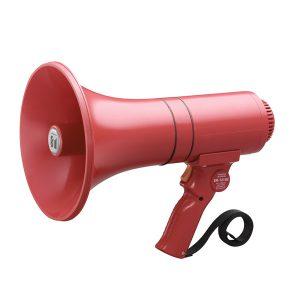 TOA ER-1215S (23W max.) Hand Grip Type Megaphone with Siren TOA ER-1215S เครื่องขยายเสียงเคลื่อนที่โทรโข่ง TOA ER-1215Sเครื่องเสียงเคลื่อนที่โทรโข่ง