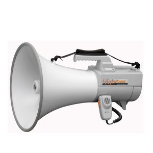 TOA ER-2230W Shoulder Type Megaphone with Whistle TOA ER-2230Wโทรโข่ง 45 วัตต์ ระยะการพูด 800 เมตรTOA ER-2230W เครื่องเสียงเคลื่อนที่โทรโข่ง