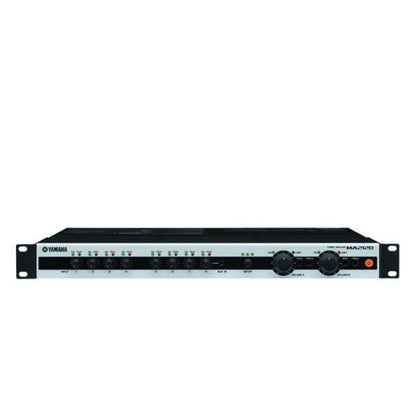 YAMAHA MA2120 Mixing Amplifier Line in to Speaker out, 90Hz to 20kHz, 1W, 70V/100V, 120W/200W) มิกเซอร์พร้อมแอมป์ขยายเสียงYAMAHAMA2120Mixing Amplifier