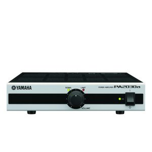 YAMAHA PA2030A Mixing Amplifier Stereo in to Speaker out, 90Hz to 20kHz, 1W, 70V/100V) เพาเวอร์แอมป์ลายน์ 70V/100V 1 Stereo /2 mono