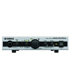 YAMAHA MA2030A Mixing Amplifier มิกเซอร์พร้อมแอมป์ขยายเสียง แบบ 70V/100V 120 วัตต์ 2 MIC 3 StereoYAMAHA MA2030AMixing Amplifier