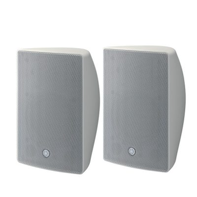 "Surface Mount Speaker8"" cone woofer with a 1"" soft dome tweeter YAMAHAVXS8W ตู้ลำโพงติดผนัง 8 นิ้ว 180 วัตต์(สีขาว)VXS8Wลำโพงติดผนัง 8 นิ้ว"