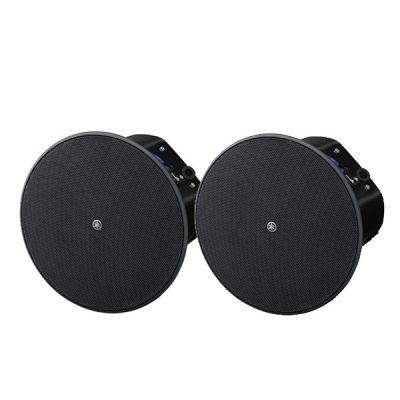 """Ceiling speaker6.5"""" cone woofer with a 0.75"""" soft dome tweeter(สีดำ) YAMAHAVXC6 ตู้ลำโพงติดผนัง ขนาด 6.5 นิ้ว 300 วัตต์(สีดำ)VXC6ลำโพงติดผนัง"""