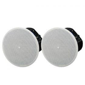 """Ceiling speaker6.5"""" cone woofer with a 0.75"""" soft dome tweeter(สีดำ) YAMAHAVXC6W ตู้ลำโพงติดผนัง ขนาด 6.5 นิ้ว 300 วัตต์(สีขาว)VXC6Wลำโพงติดผนัง"""