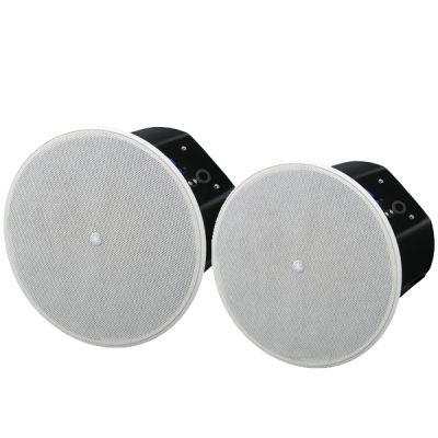 """Ceiling speaker8"""" cone woofer with a 1"""" soft dome tweeter(สีดำ) YAMAHAVXC8W ตู้ลำโพงติดผนัง ขนาด 8 นิ้ว 360 วัตต์(สีขาว)VXC8Wลำโพงติดผนัง"""