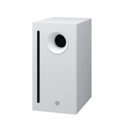 "10"" dual voice coil subwoofer for low impedance systems YAMAHAVXS10SW ตู้ลำโพงซับวูฟเฟอร์ติดผนัง 2x10 นิ้ว 200x200 วัตต์ (สีขาว)VXS10SWลำโพงซับ ติดผนัง"