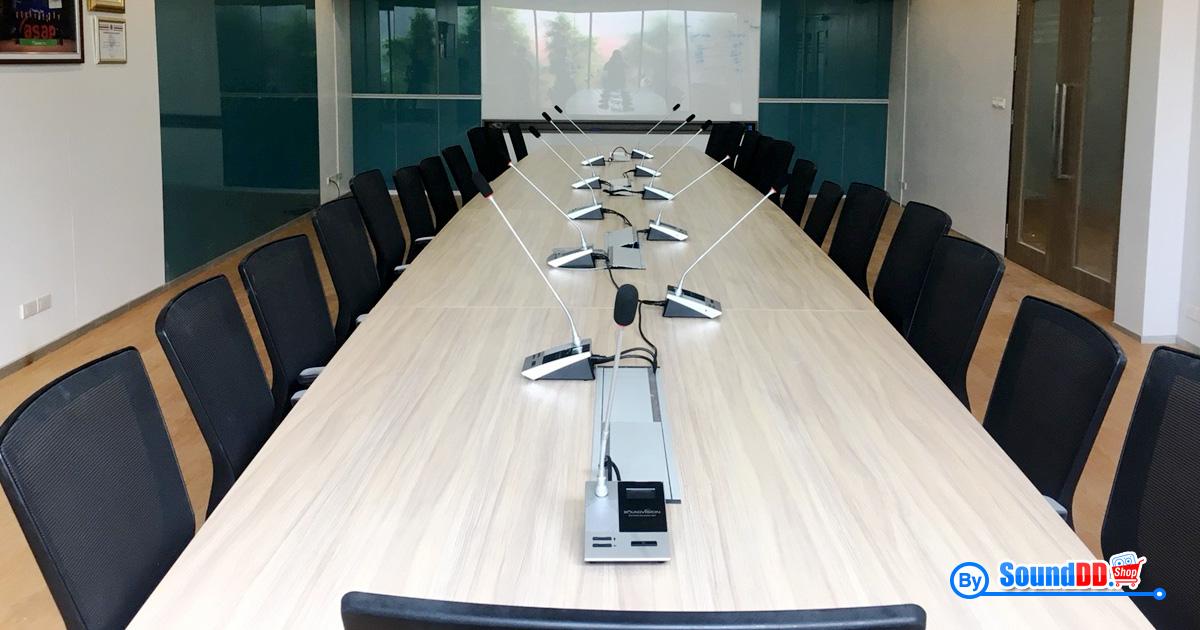 ผลงานการติดตั้ง ระบบเสียงห้องประชุม บริษัทซินเนอร์ รับบริการออกแบบ และติดตั้ง ระบบเสียง และระบบภาพ เช่น ระบบเสียงห้องประชุม ด้วยทีมงานมืออาชีพ