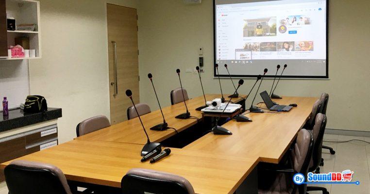 ผลงานการติดตั้ง ระบบเสียงห้องประชุม มหิดล รับบริการออกแบบ และติดตั้ง ระบบเสียง และระบบภาพ เช่น ระบบเสียงห้องประชุม ด้วยทีมงานมืออาชีพ