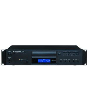 TASCAM CD-200Professinal CD Player TASCAM CD-200 เครื่อง เล่น CD รองรับ SD/USB PlayerTASCAM CD-200CD Player ของแท้แน่นอน