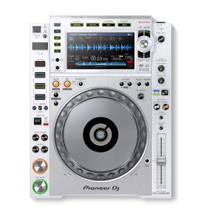 PIONEER CDJ-2000 NEXUS 2-W เครื่องเล่น มัลติมีเดียเพลเยอร์ สำหรับ ดีเจ สามารถเล่นไฟล์เพลงได้ทั้งแผ่น CD Audio และ เล่นผ่านพอร์ต USB