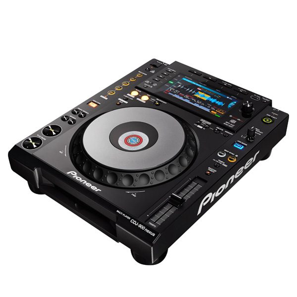 PIONEER CDJ-900 NEXUS เครื่องเล่น มัลติมีเดียเพลเยอร์ สำหรับ ดีเจ เล่นผ่านพอร์ต USBสามารถเล่นไฟล์เพลงได้หลายรูปแบบ (MP3, AAC, WAV,AIFF)
