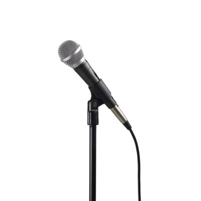 TOA DM-420 AS Unidirectional Microphone ไมโครโฟน ใช้สำหรับร้องเพลง หรือใช้ในงานพูดพรีเซนต์ ให้พลังเสียงที่เหมาะสม ใช้งานแบบถือก็เหมาะมือ