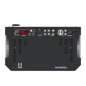 HILL IMA-202V2 (B)Media Wall Amplifier HILL IMA-202V2 (B) มิกเซอร์แอมป์ 2×50 วัตต์ 8 โอห์ม สำหรับติดผนังสำหรับติดผนังHILL IMA-202V2 (B)มิกเซอร์แอมป์