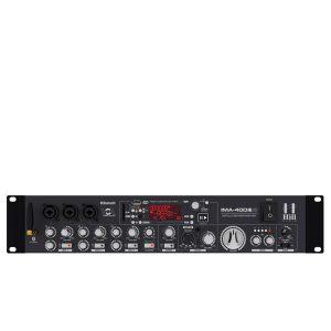 HILL IMA-400V2 (B)Media Amplifier HILL IMA-400V2 (B) มิกเซอร์แอมป์ เครื่องขยายเสียง 2×100 ที่ 8 โอห์ม HILL IMA-400V2(B)มิกเซอร์แอมป์
