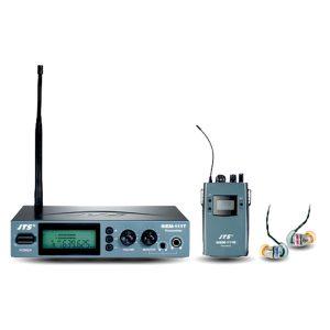 JTS SIEM-111T/SIEM-111R/IE-1 ชุดหูฟังมอนิเตอร์ ไร้สาย เครื่องรับ/ส่ง พร้อมหูฟังสำหรับงาน มอนิเตอร์เสียงบนเวทีJTS SIEM-111เครื่องส่ง และเครื่องรับ