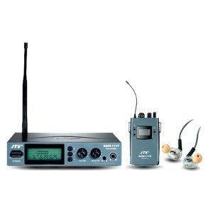 JTS SIEM-111T/SIEM-111R/IE-6 ชุดหูฟังมอนิเตอร์ ไร้สาย เครื่องรับ/ส่ง พร้อมหูฟังสำหรับงาน มอนิเตอร์เสียงบนเวที เครื่องส่ง และเครื่องรับ