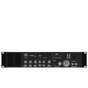HILLVMA-1120100V Media Amplifier1×120W @ 40 Ohms HILL VMA-1120 มิกเซอร์ & ปรีแอมป์ เครื่องขยายเสียง 1x120 ที่ 40 โอห์ม HILL VMA-1120 มิกเซอร์ & ปรีแอมป์