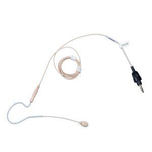 TOA YP-M5000E Beige Color Ear-Hook Microphone ไมค์ลอยเกี่ยวคล้องหู ทิศทางการรับเสียงแบบ Omnidirectional หัวเชื่อมต่อแบบ TOA YP-M5000EMicrophone