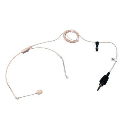 TOA YP-M5000H Beige Color Headset Microphone TOA YP-M5000H ไมค์ลอยเกี่ยวคล้องหู ทิศทางการรับเสียงแบบ Omnidirectional หัวเชื่อมต่อแบบ Microphone