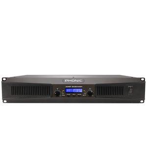 PHONIC IAMP 3020DSPDIGITAL AMPLIFIER WITH DSP เครื่องขยายเสียงระบบดิจิตอล 2 ชาเนล คลาส D 1000 วัตต์ ที่ 4 โอมห์PHONIC iAMP 3020DSP แอมป์ขยายเสียง
