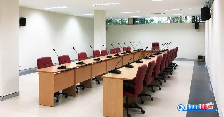 ผลงานการติดตั้ง ระบบเสียงห้องประชุม สำนักงานวิจัยแห่งชาติ รับบริการออกแบบ และติดตั้ง ระบบเสียง และระบบภาพ เช่น ระบบเสียงห้องประชุม ด้วยทีมงานมืออาชีพ