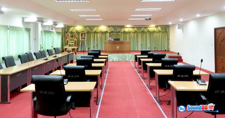 ผลงานการติดตั้ง ระบบเสียงห้องประชุม เทศบาลตำบลคลองสวน รับบริการออกแบบ และติดตั้ง ระบบเสียง และระบบภาพ เช่น ระบบเสียงห้องประชุม ด้วยทีมงานมืออาชีพ