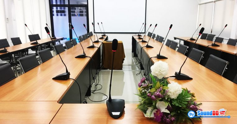 ผลงานการติดตั้งระบบเสียงห้องประชุม แขวงทางหลวงชนบทนครปฐม รับบริการออกแบบ และติดตั้ง ระบบเสียง และระบบภาพ ด้วยทีมงานมืออาชีพ