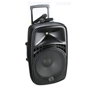 WHARFEDALE PRO EZ-15A เครื่องขยายเสียงเคลื่อนที่แบบลากจูง 15 นิ้ว 140 วัตต์ รองรับ MP3 ผ่าน USB/SD พร้อมบลูทูธเชื่อมสัญญาณในตัว